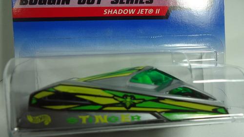 hotwheels vintage collector shadow jet il 1999
