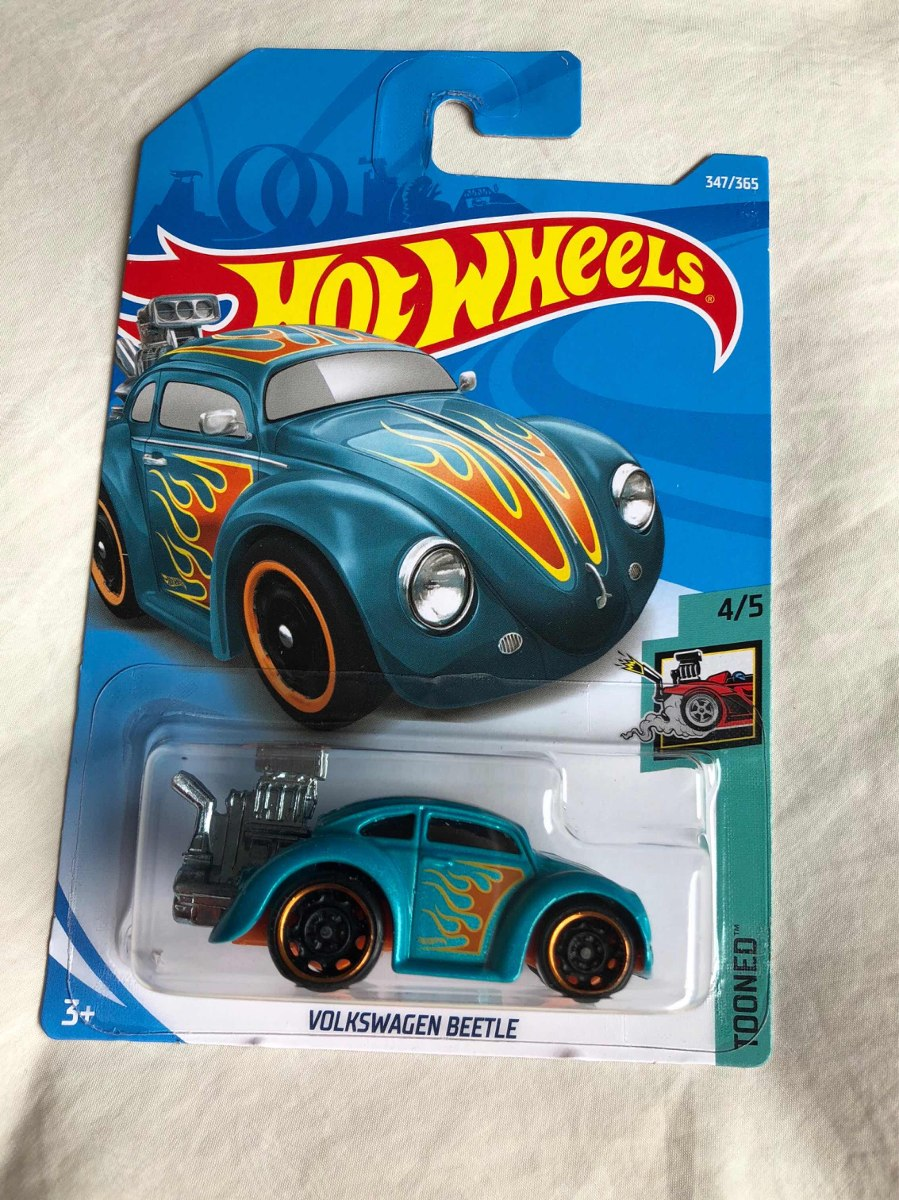 Hotwheels Vw Beetle Tooned - $ 149.00 en Mercado Libre