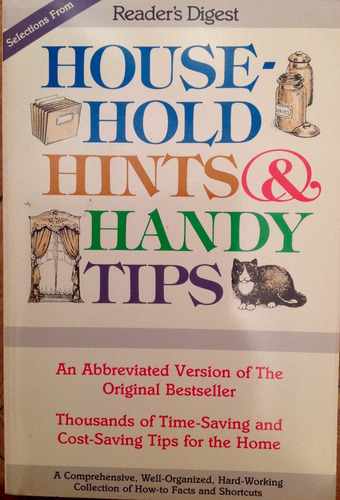 house-hold hints & handy tips readers digest