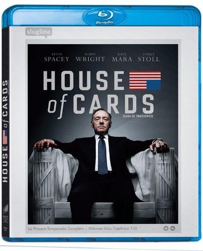 house of cards primera temporada 1 uno blu-ray