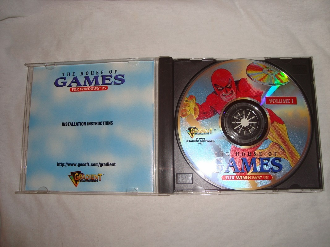 House Of Games 50 Juegos Antiguos Windows 95 Original Cd 100 00