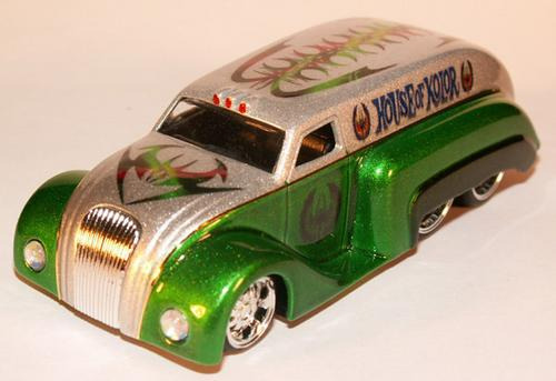 house of kolor flakes green 20grs  para pintura automotor