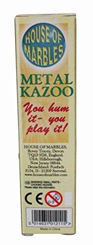 house of marbles premium metal de alta calidad kazoo hum par