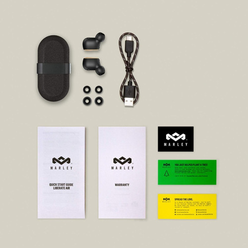 house of marley, auriculares inalámbricos liberate air true