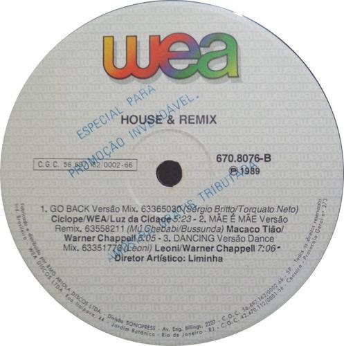 house & remix lp nac usado ed motta titãs os mulheres negras