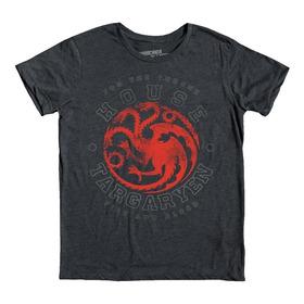 House Targaryen Playera Game Of Thrones Mascara De Latex