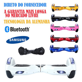 6b3add4fb371e Usado 6 Led Hoverboard Skate Electrico Bluetooth Overboard