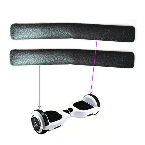 hoverboard bandas protectoras jebe par standard 2.9 x 22.9cm