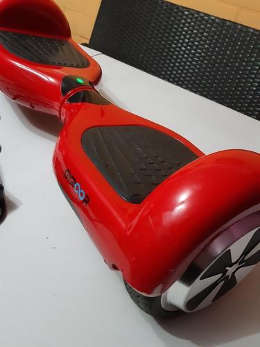 hoverboard gyroor, patineta eléctrica roja poco uso.