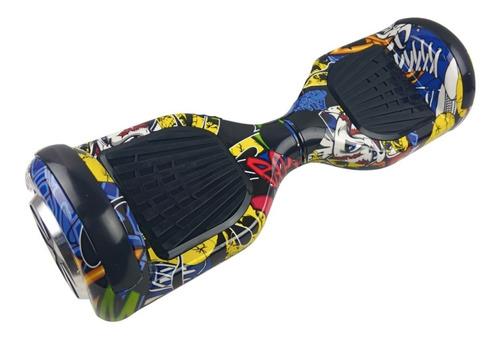 hoverboard over board