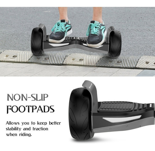 hoverboard patineta electrica skate smart mk21 10cm de diámetro