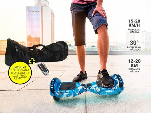 hoverboard patineta electrica skate smart parlantes 120kilos