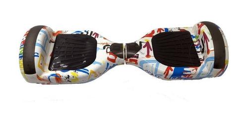 hoverboard skate elétrico 6.5  bluetooth várias cores + brinde