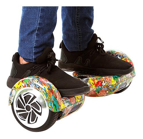 hoverboard skate eletrico roda 6,5  hq pokémon samsung