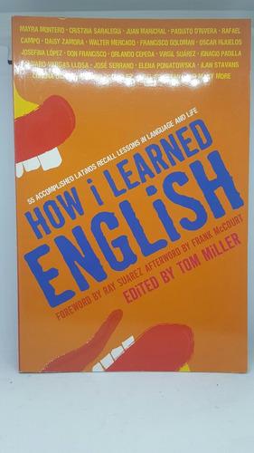 how i learned english como aprendi ingles? libro entrevistas