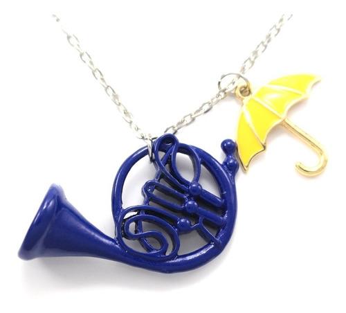 how i met your mother collar importado cuerno trompeta