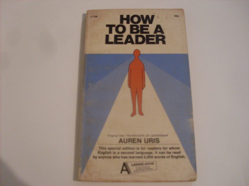 how to be a leader  libro en ingles