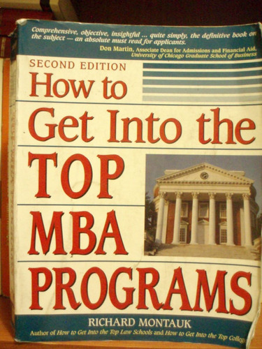 how to get into the top mba programs.