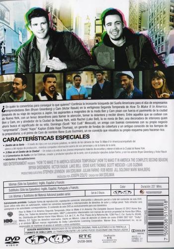 how to make it in america segunda temporada 2 dos dvd