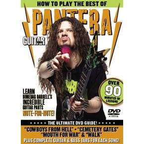 how to play the best of pantera guitar dvd