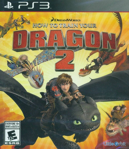 how to train your dragon 2 (como treinar seu dragão 2) - ps3