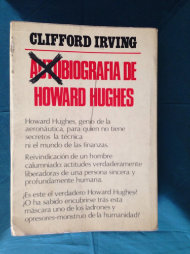 howard hughes autobiografia clifford irving
