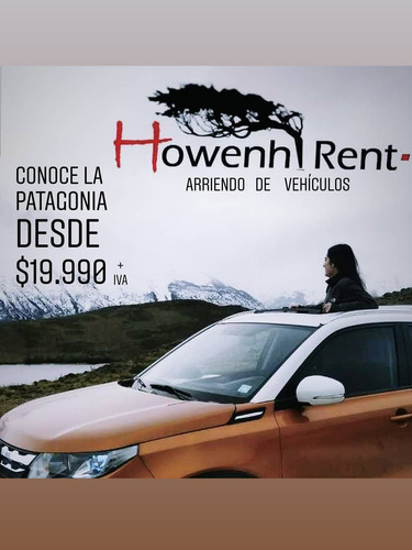 howenh rent a car - punta arenas / pto. natales