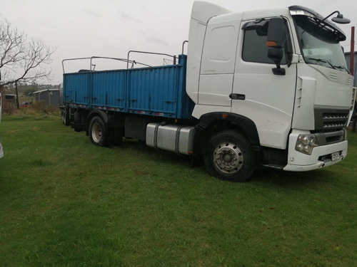 howo a7-380 camion y zorra