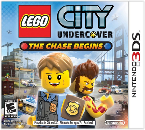 hoy! lego city undercover the chase begins nintendo 3ds