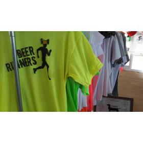 Hoy! Remera Fluor Deporte Runner Ciclista Tria