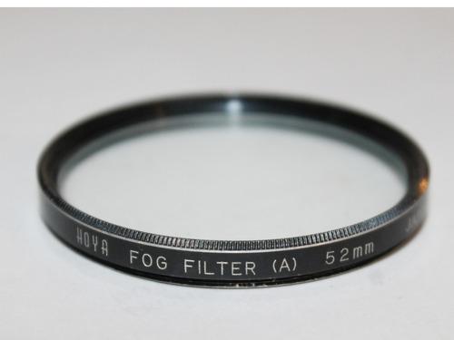 hoya 52 mm (a) filtro de vidrio con efecto de niebla