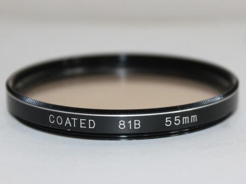 hoya 55mm 81b color conversion  glass
