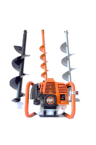 hoyadora ahoyadora motoperforador takashi 52cc incluye 3 brocas 10, 15, 20 x 80 cm  mtt52m