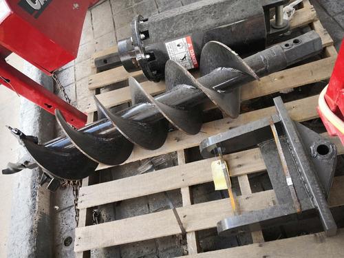 hoyadora con broca para tierra aditamento retroexcavadora