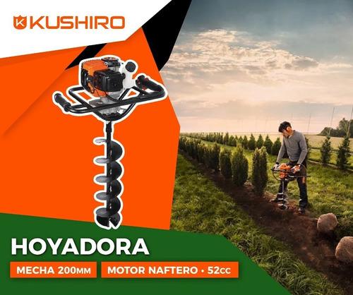 hoyadora kushiro naftera 2 tiempos mecha 200mm