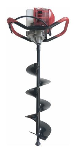 hoyadora / pala pocera con mecha 20cm - motor 49cc. 2.1/4hp