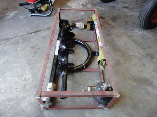 hoyadora para levante de 3 puntos de tractor - uso intensivo