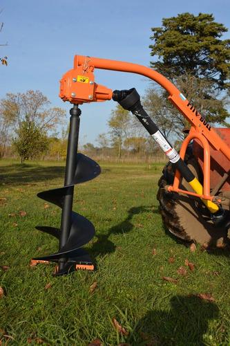 hoyadora para tractor c/levante hidráulico nacional