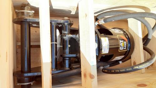 hoyadora, perforadora, auger cat a26b