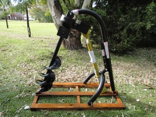 hoyadora - perforadora - pocera para tractor