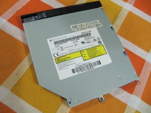 hp 14 r215la - unidad dvd original - buena