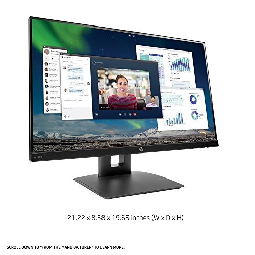 hp 23.8-inch monitor fhd ips con ajuste