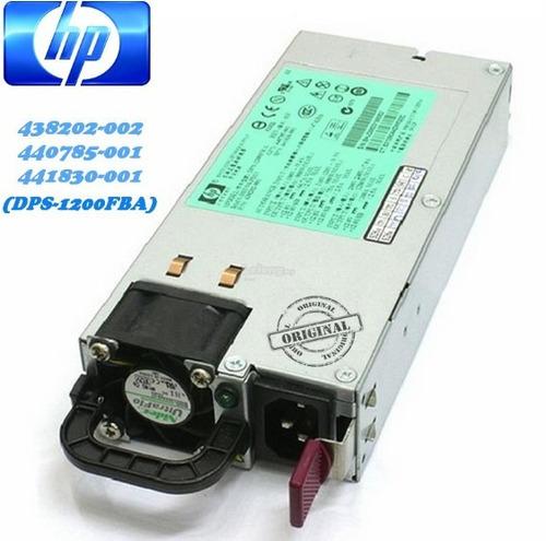 hp 438202-002 fuente de poder 1200 watt para dl580 g5