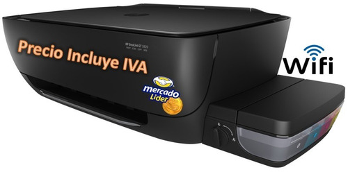 hp 5820 tinta continua original impresora incluye iva wifi