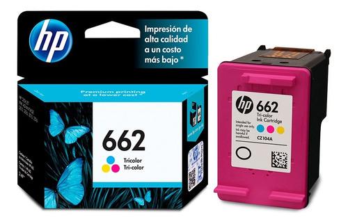 hp 662 tri color original verfcb a estrenar x usted garantia