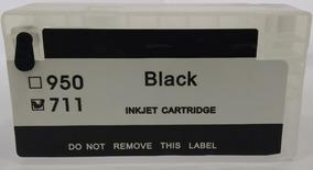 Hp 711 Cartuchos Rellenables Con Chip Reseteable Sin Tinta