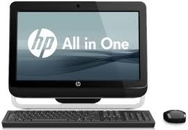 hp all in one  dual core /4gb/500/20.5/win 8/ wifi /web/