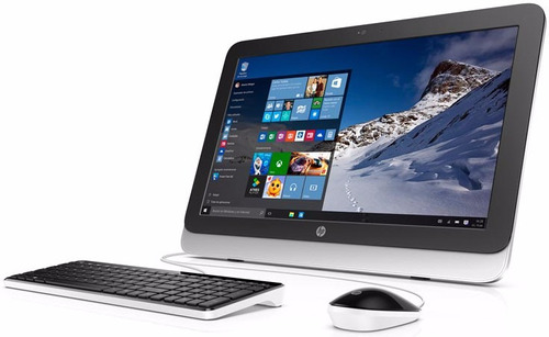 hp all in one intel 4gb 1tb w10 tienda oficial + impresora