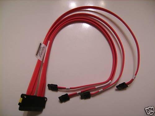 hp cabo interno sata 4 conectores p/n: 382960-001