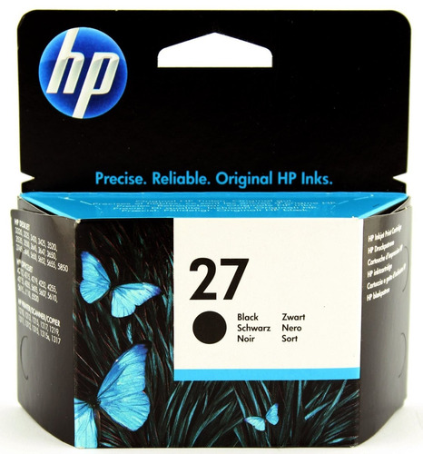 hp cartucho negro 27 (gadroves)